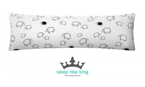 SHEEP KINGPILLOW 160 x 50 cm - poduszka owca