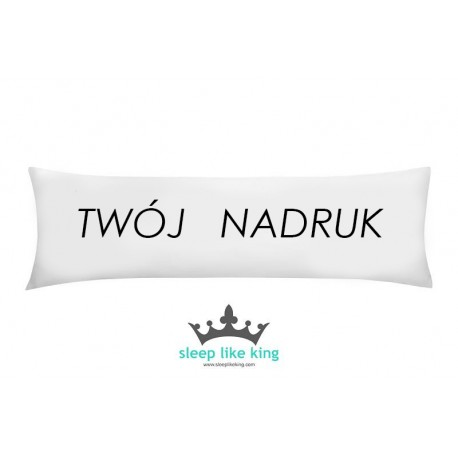 YOUR KINGPILLOW 160 x 50 cm - poducha Mr and Mrs